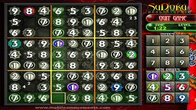 Sudoku Dragon Gems screenshot 2