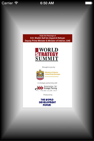 World Strategy Summit - Abu Dhabi 2015 - náhled
