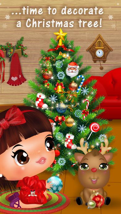 Sweet Little Emma Winterland 2 Cute Reindeer Care screenshot 5