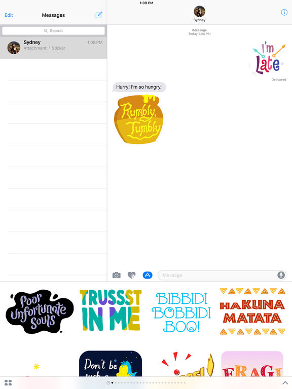 Disney Stickers: Quotes screenshot 7