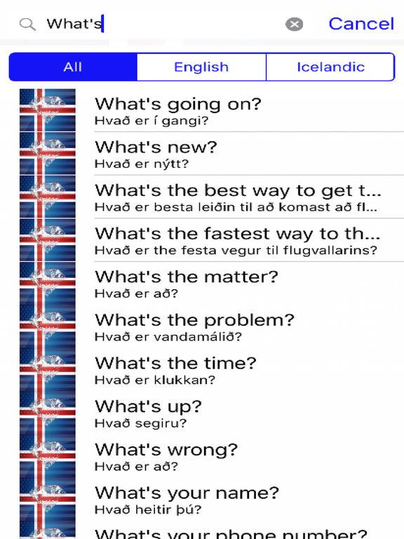 Icelandic Phrases Diamond 4K Edition screenshot 5