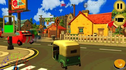 City Auto Rickshaw Drive screenshot 1