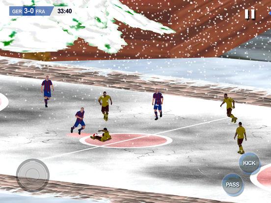 Play Soccer holidays 2017 - Xmas mobile Football screenshot 9