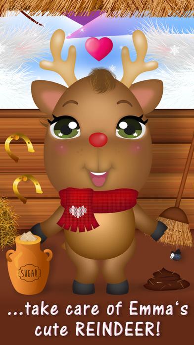 Sweet Little Emma Winterland 2 Cute Reindeer Care screenshot 1