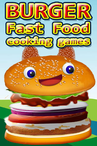 Burger fast food cooking games - hamburger maker g - náhled