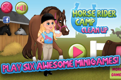 Horse Rider Camp Clean Up - náhled