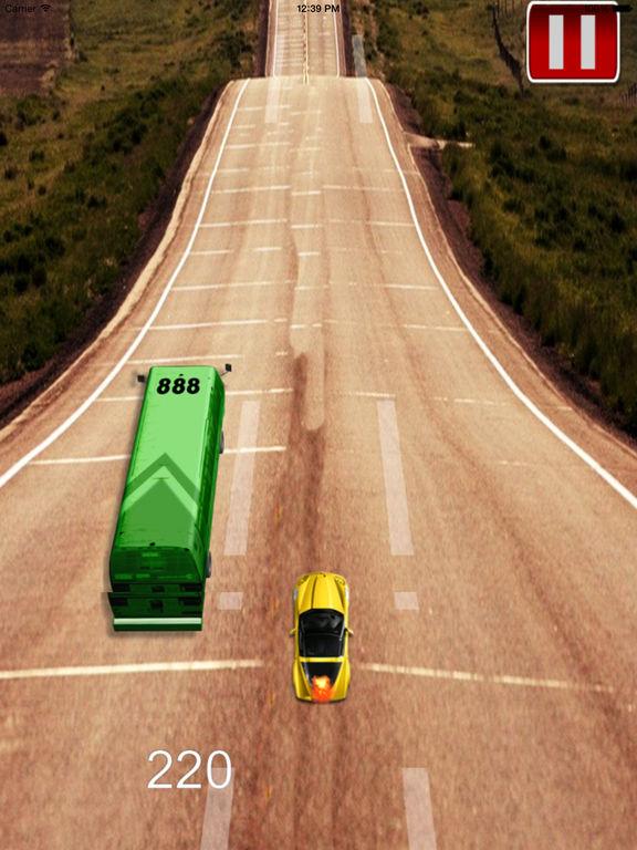 A Mad Dash Highway - Racing Hovercar Racing Game screenshot 9