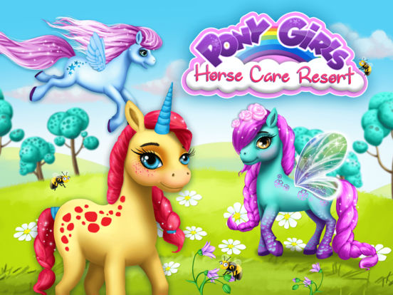 Pony Girls Horse Care Resort - No Ads screenshot 9
