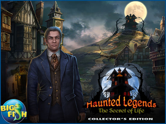 Haunted Legends: The Secret of Life - A Mystery Hidden Object Game screenshot 10