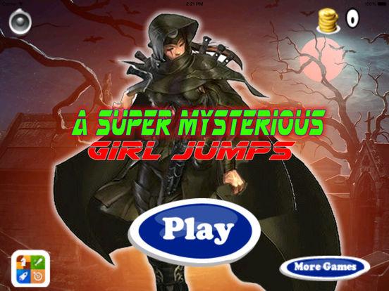 A Super Mysterious Girl Jumps PRO - Cool Game Jumps screenshot 6