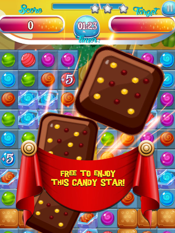 Princess Candy Diary - The Romantic Match Puzzle Story HD