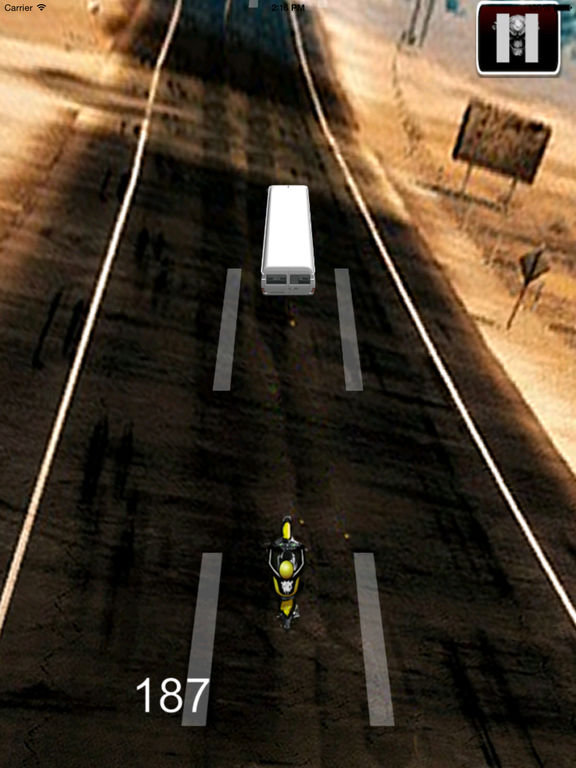 A Fury Motocross - Traffic Game Bike Racing screenshot 8