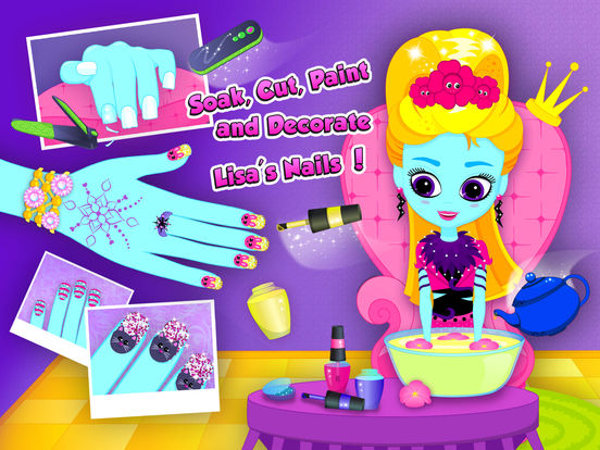 Monster Sisters 2 Home Spa - Rock Star Makeover screenshot 8