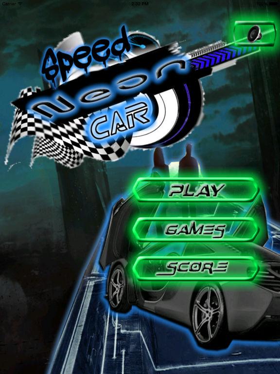 A Speed Neon Car - Amazing Speed Light Car screenshot 6