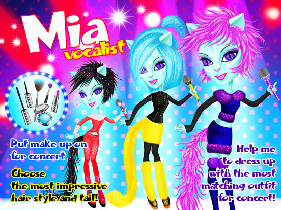 Crazy Cats Super Stars - Animal Pop Music Band Hair & Style Makeover screenshot 6