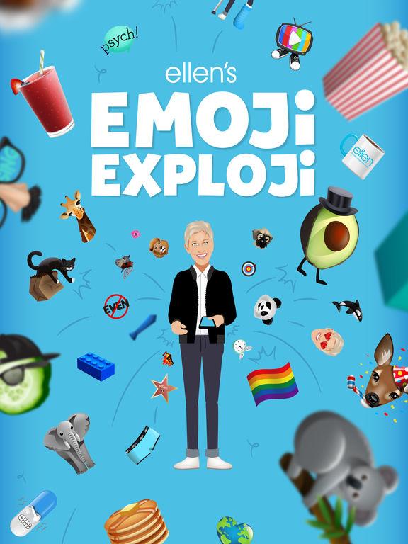 Ellen's Emoji Exploji screenshot 6