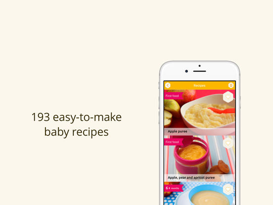 Baby weaning and recipes screenshot 5