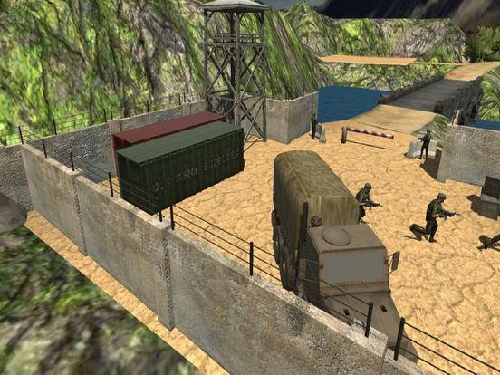 Army Death Parking Track : War Zone screenshot 7