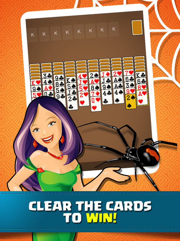 Solitaire Spider Classic Pro - Fun Cards Game screenshot 7