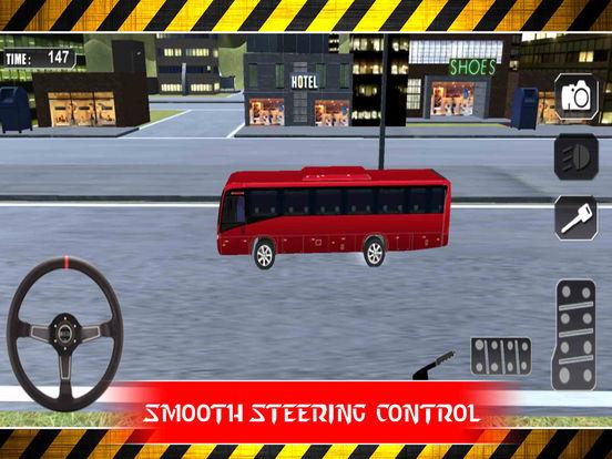 Snow Bus Parking : Free Par-King Sim-ulator Game-s screenshot 7