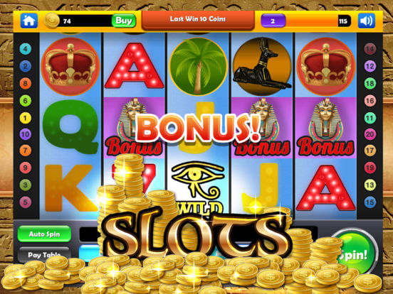 Cleopatra's Lucky Slots - Mega Gold Pyramid Casino screenshot 6