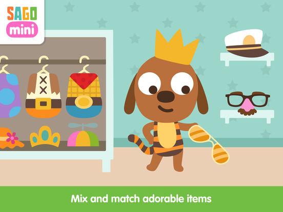 Sago Mini Babies Dress Up screenshot 7