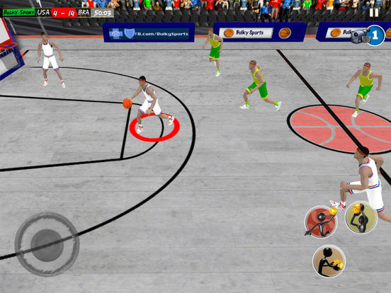 Basketball LIVE slam dunks: Extreme basketball hoops to practice for NBA titles by BULKY SPORTS screenshot 10