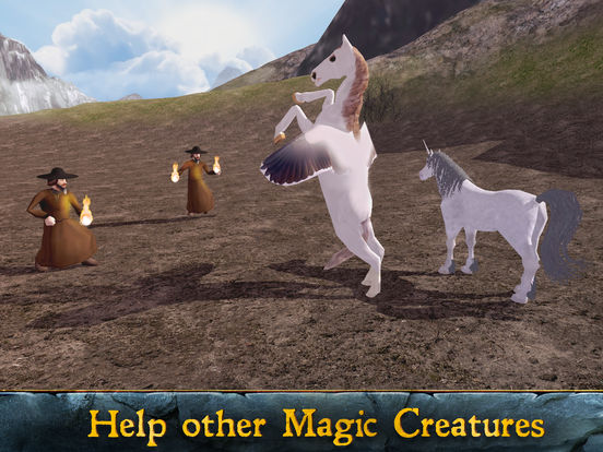Flying Pegasus: Magic Horse Simulator 3D Full screenshot 5