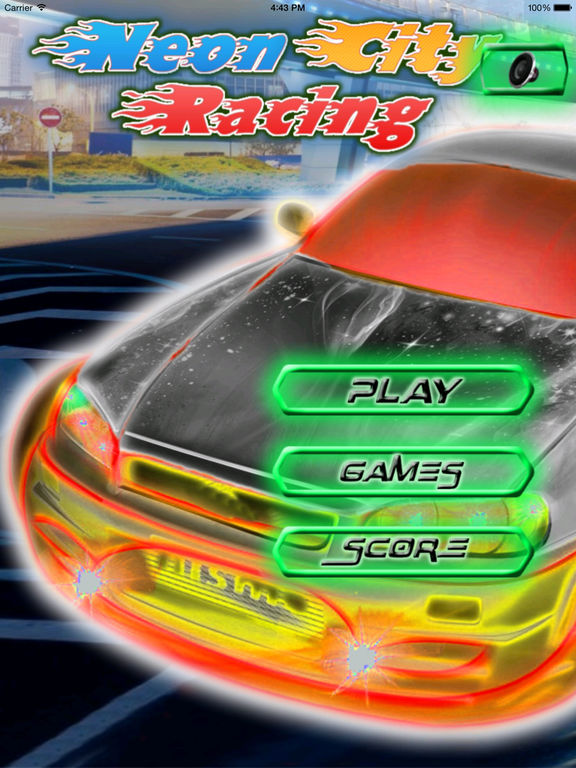 A Neon City Racing PRO - Traffic Car Driving screenshot 6