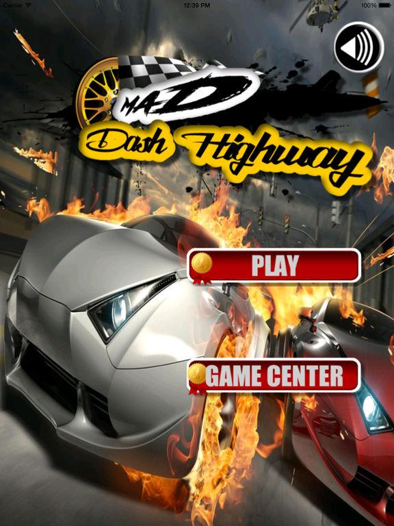A Mad Dash Highway - Racing Hovercar Racing Game screenshot 6