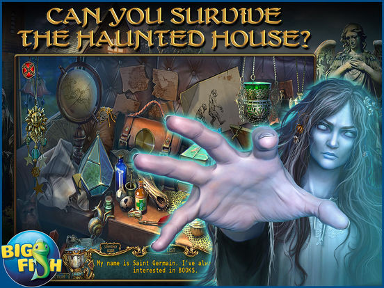 Haunted Legends: The Secret of Life - A Mystery Hidden Object Game screenshot 7