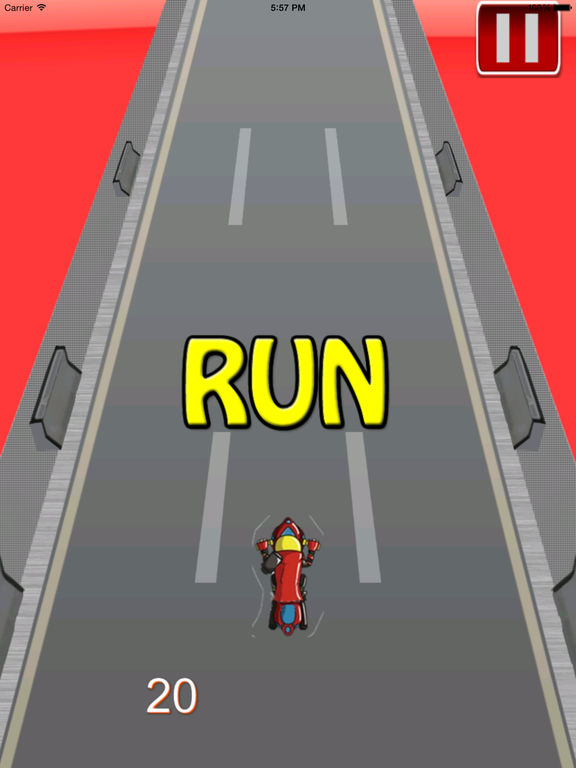 Big Fast Race Child - Crazy Game Road Bike screenshot 8