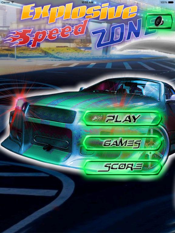 A Explosive Speed Zone - Xtreme Fun Driving screenshot 6
