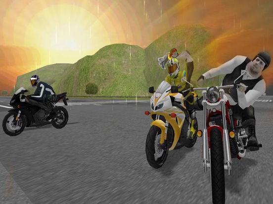 Moto Bike Road Rush : Figh-t Atta-ck Race 3d screenshot 6