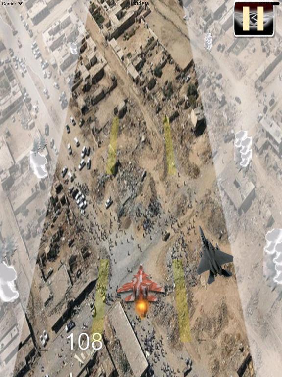 Flight Simulator Aircraft - Airplane Carrier Landing Lite Game screenshot 9