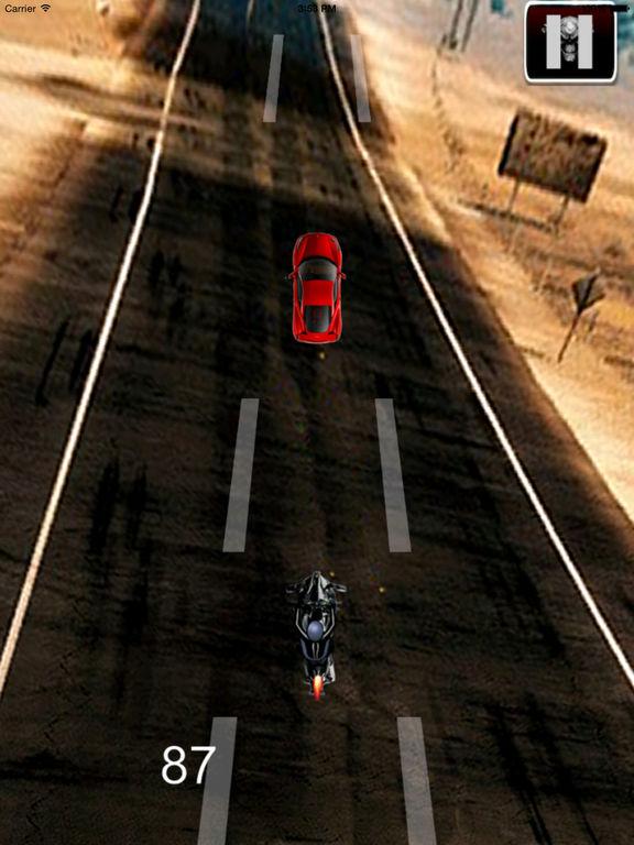 A Speed Endless Biker - Simulator Motorcycle Driver Game screenshot 8