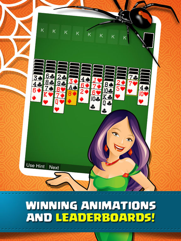Solitaire Spider Classic Pro - Fun Cards Game screenshot 6