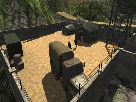 Army Trucker Drive : Comm-ando delivery Park-ing screenshot 5