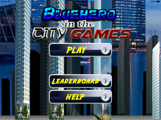 Bluehero In The City games screenshot 7