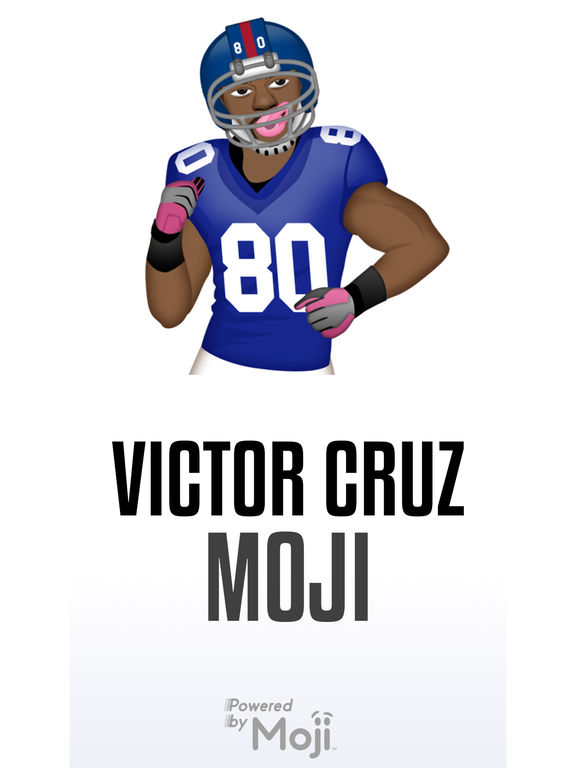 Victor Cruz ™ by Moji Stickers screenshot 6