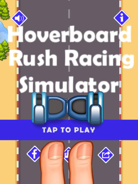 Hoverboard Rush Racing Simulator -Hover Board Game screenshot 3