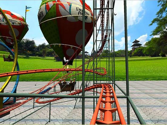RollerCoaster 2 - Crazy VR Park Simulation screenshot 6