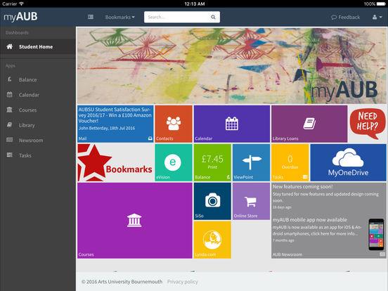 myAUB screenshot 5