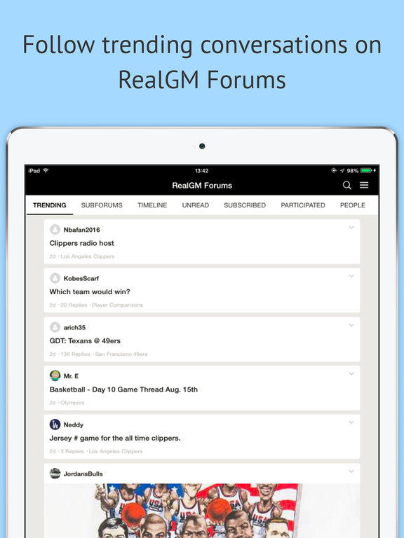 RealGM screenshot 7