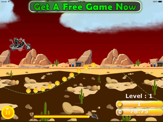 Motorbike Without Fear To Mountain Pro - Game Traffic Steel screenshot 7