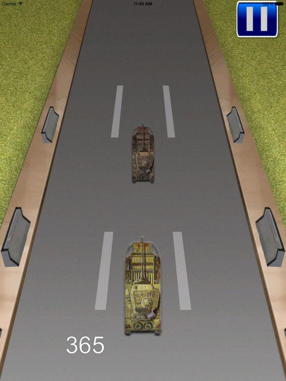 Tank Monster Race - Addictive Revolution War screenshot 10