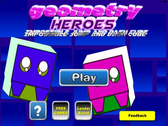 Geometry Heroes - Impossible Jump screenshot 6