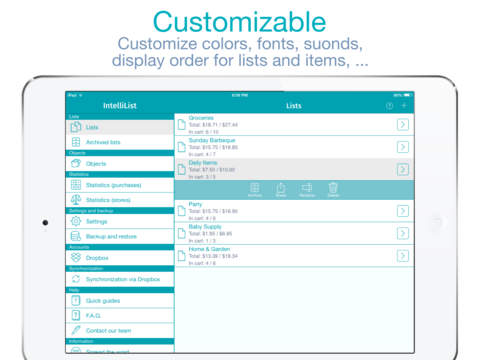 IntelliList - Shopping List screenshot 10