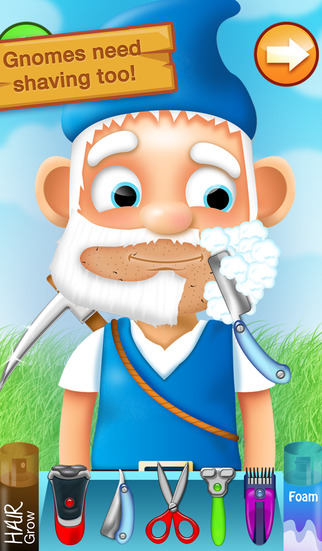 Shaving Crazy Gnomes – A Messy Hairy Shave Makeover ! screenshot 2
