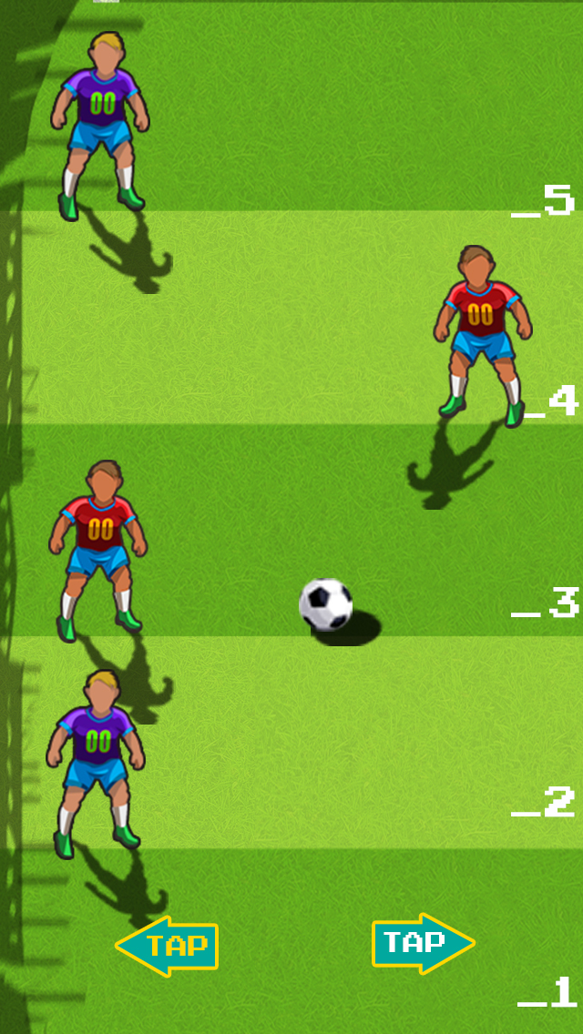Champions Football Rush 2015 screenshot 2